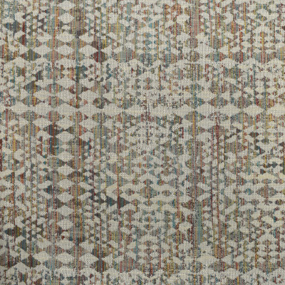 S3965 Patina Fabric: S53, GEOMETRIC, CONTEMPORARY, WOVEN, TEAL, RED, PATINA