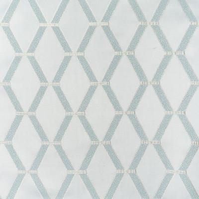 S3985 Serenity Fabric: S54, DIAMOND, GEOMETRIC, DAMASK, SATIN, BLUE, SERENITY, SPA