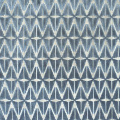 S4002 Cadet Fabric: S54, GEOMETRIC, VELVET, TEXTURE, CUT VELVET, BLUE, CADET