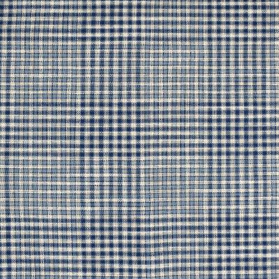 S4043 Atlantic Fabric: S55, CHECK, WOVEN, BLUE, ATLANTIC