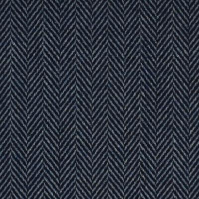 S4045 Bristol Fabric: S55, WOOL, WOOL BLEND, MENSWEAR, HERRINGBONE, TEXTURE, BLUE, BRISTOL