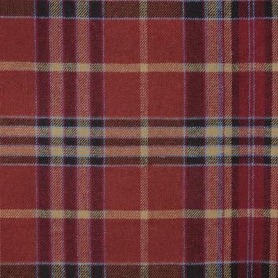 S4047 Pompeii Fabric: S55, WOOL, WOOL BLEND, MENSWEAR, PLAID, RED, BLUE, NEUTRAL