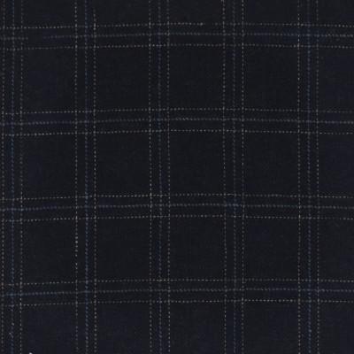 S4051 Bristol Fabric: S55, WOOL, WOOL BLEND, MENSWEAR, PLAID, BLUE, BRISTOL
