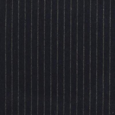 S4052 Denim Fabric: S55, WOOL, WOOL BLEND, MENSWEAR, STRIPE, BLUE, DENIM