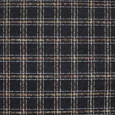 S4058 Raven Fabric: S55, PLAID, CHENILLE, BLUE, RED, BLACK, RAVEN
