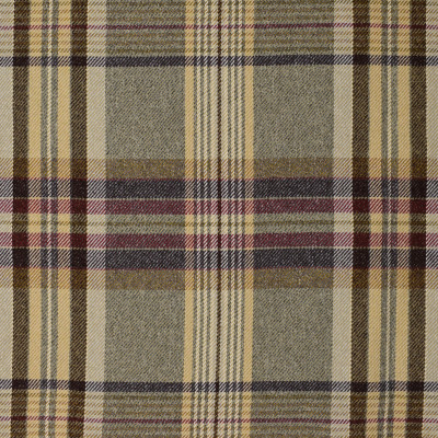 S4063 Dune Fabric: S55, PLAID, WOVEN, NEUTRAL, BROWN, DUNE