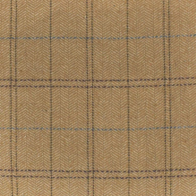 S4066 Harvest Fabric: S55, WOOL, WOOL BLEND, MENSWEAR, PLAID, HERRINGBONE, NEUTRAL, HARVEST