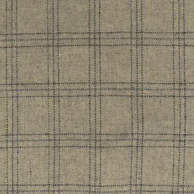 S4069 Stone Fabric: S55, WOOL, WOOL BLEND, MENSWEAR, PLAID, GRAY, GREY, BLACK, STONE