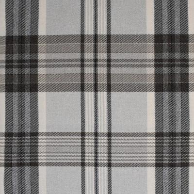 S4070 Dove Fabric: S55, PLAID, WOVEN, GRAY, GREY, BROWN, DOVE