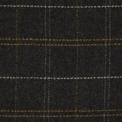S4084 Smoke Fabric: S55, WOOL, WOOL BLEND, MENSWEAR, PLAID, HERRINGBONE, GRAY, GREY, NETURAL, SMOKE, CHARCOAL