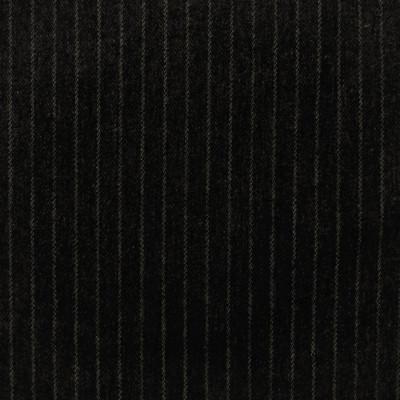 S4085 Midnight Fabric: S55, WOOL, WOOL BLEND, MENSWEAR, STRIPE, BLACK, MIDNIGHT
