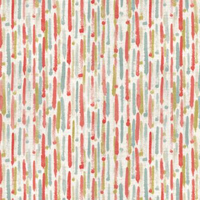 S4099 Garden Fabric: M07, MULTICOLORED, STRIPES, PRINT, CONTEMPORARY