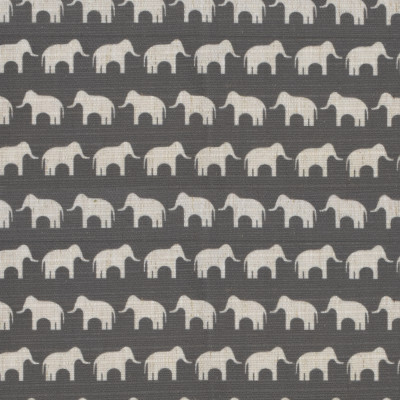 S4118 Pewter Fabric: M07, GRAY, GREY, ELEPHANT, PRINT, JUVENILE, PEWTER