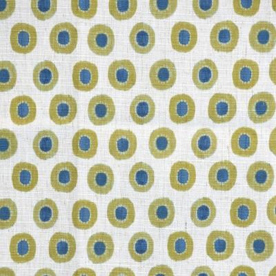 S4130 Citron Fabric: M07, CITRON, GREEN, CIRCLES, PRINT, CONTEMPORARY