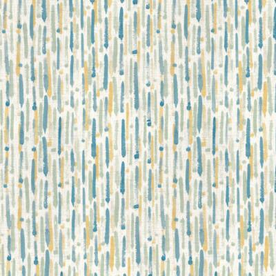 S4131 Seaspray Fabric: M07, BLUE, PRINT, CONTEMPORARY, SEASPRAY, STRIPE