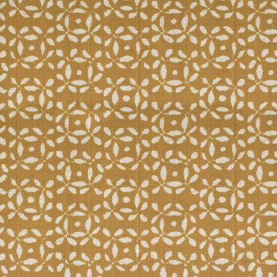 S4154 Saffron Fabric: M07, CONTEMPORARY, PRINT, IKAT, SAFFRON, WOVEN