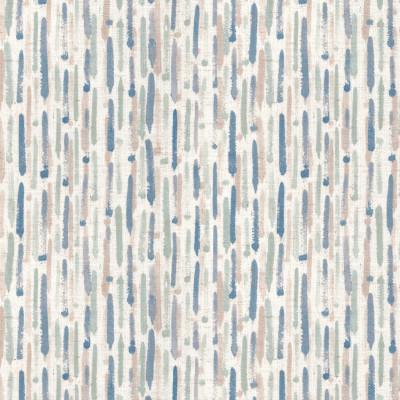 S4182 Bluestar Fabric: M07, CONTEMPORARY, PRINT, STRIPE, STRIPES, WATERCOLOR, BLUE, BLUE STAR