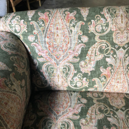 by Island Interiors & Upholstery (left) & Greenhouse Fabrics (right) in Staten Island, NY (left) & High Point, NC (right)