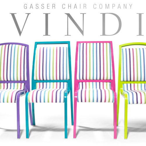 by Gasser Chair Company in Youngstown, Ohio