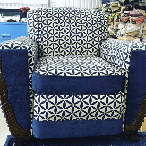 by Church Lane Upholstery in Ledbetter, TX
