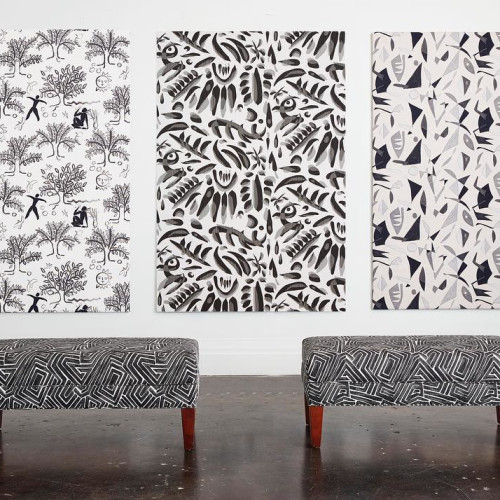 by Greenhouse Fabrics & Mermaidan (right image)