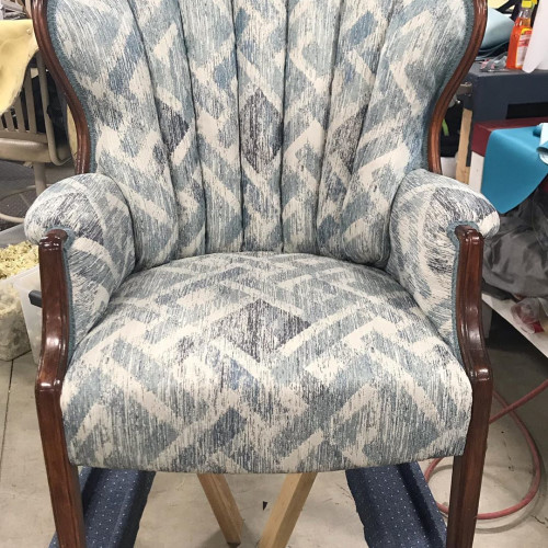 by Helfire Upholstery in Spencer, IA