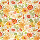 A6454 Tiger Lily Fabric