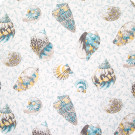 B6262 Caribbean Blue Fabric