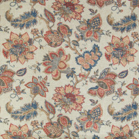 B2335 Vintage Red Fabric