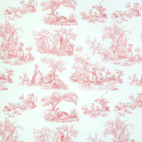 B2627 Scarlet Fabric