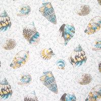 B6262 Caribbean Blue Fabric