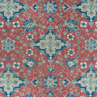 B6819 Vintage Red Fabric