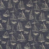 B6866 Navy Fabric
