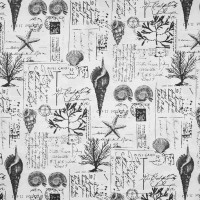 B6902 Black/Tan Fabric