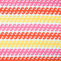 B6957 Coral Sunshine Fabric