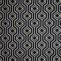 S1899 Black/Tan Fabric