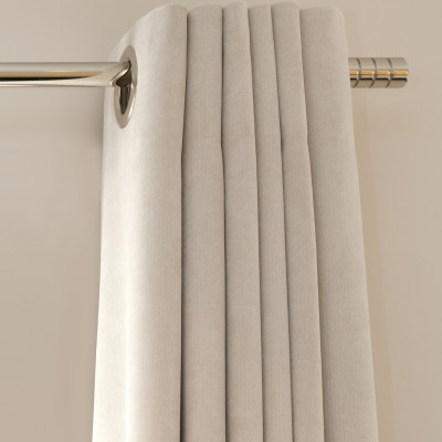 91511 Ruby Plus Lining Ivory Fabric