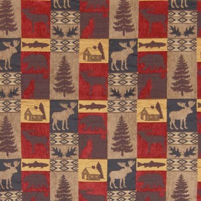 A8173 Red Fabric