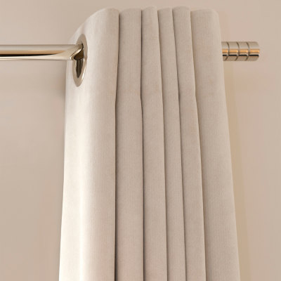 B8049 Signature Sateen Ivory Fabric