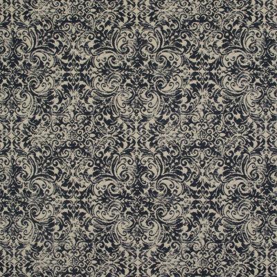 B9465 Black Tan Fabric