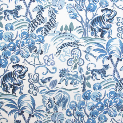 B9627 Persian Blue Fabric
