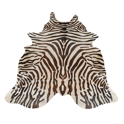 HOH022 Zebra Brown Fabric