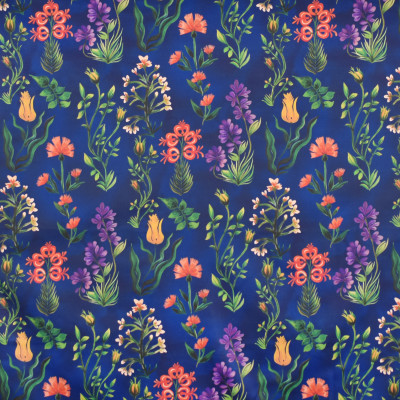 S4031 Deep Blue Fabric