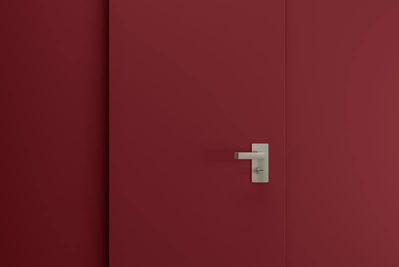 plank porta blindata color marsala