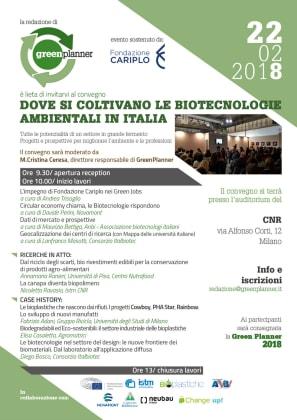 convegno biotecnologie ambientali 22 febbraio