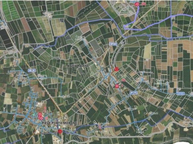 mappatura rete fognaria del pavese