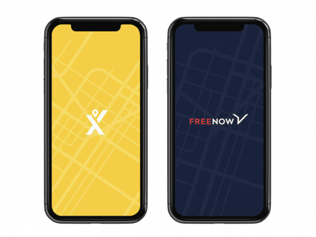 free now - mytaxi