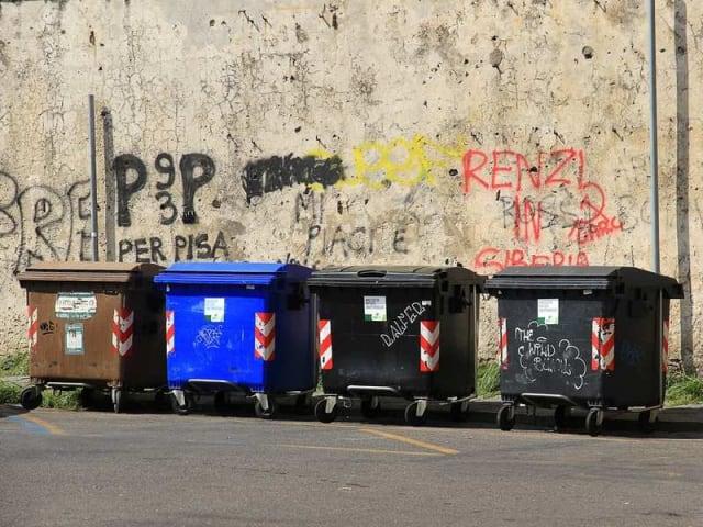 riciclo dei rifiuti domestici