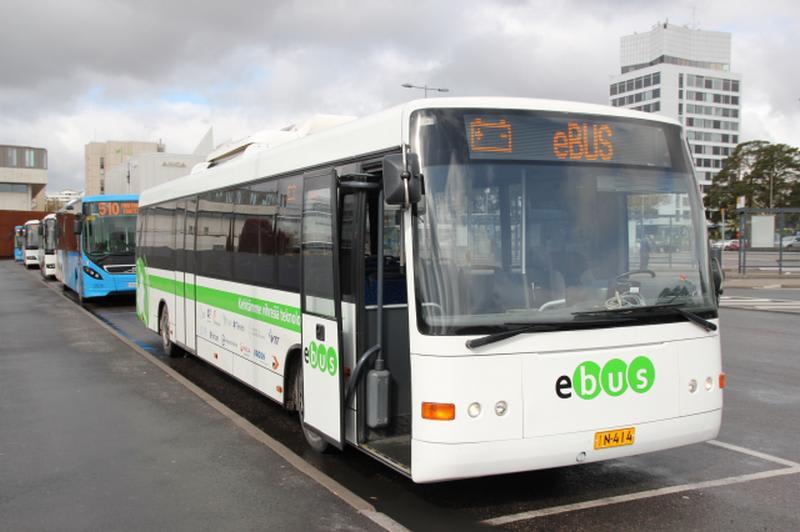 helsinki electric buses