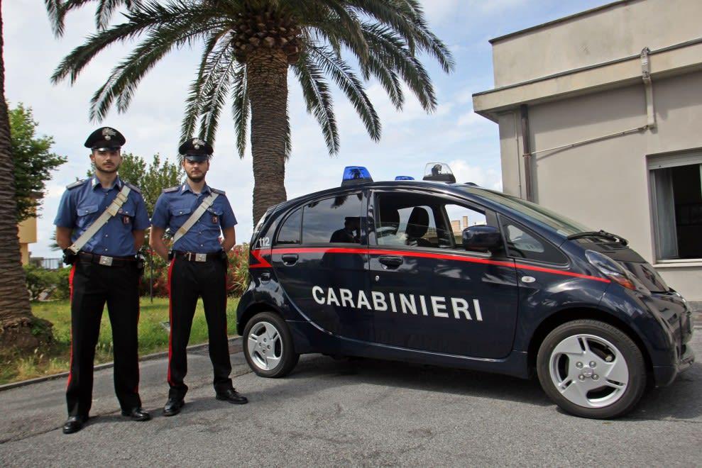 auto elettriche per i carabinieri